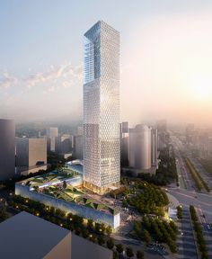 Shaping the China of Tomorrow In honor of this week's China Tour by leaders of SOM's City Design Practice, here are three bold projects currently underway there: Jiangxi Nanchang Greenland Zifeng Tower, White Magnolia Plaza, and Poly International Plaza. See More