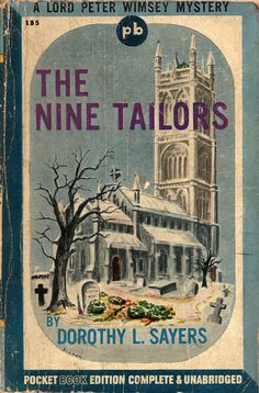 The Nine Tailors (1942) by Book Covers: Vintage Paperbacks, Mars Sci-Fi, via Flickr