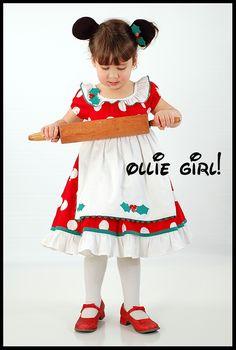 Minnie Mouse Christmas dress