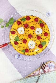 Himbeer-Maracuja Torte