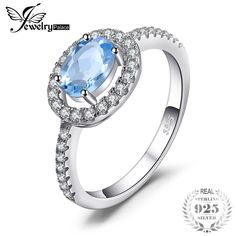 Cheap jewelry silver ring, Buy Quality jewelry gemstone rings directly from China jewelry chunky Suppliers: JewelryPalace Round Natural Blue Topaz 925 Sterling Silver Ring Fine Jewelry Natural Gemstone Engagement Ring for Women Silver Jewelry, Fine Jewelry, Silver Rings, Women Jewelry, Jewelry Rings, Jewellery, Wedding Rings For Women, Wedding Ring Bands, Blue Topaz Ring