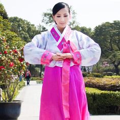 Dae Jang Geum Hanbok Korean women dance costume improved national dress costume