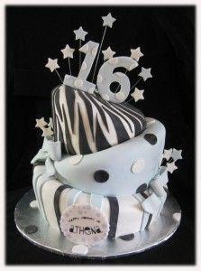 birthday cake 16 years