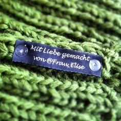 Individuell gestaltbare Textiletiketten zum Aufnähen - die Polynera Weblabel von www.dortex.de