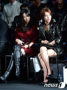 """김윤서金允瑞◕‿◕✿出席2015 S/S Seoul Fashion Week """"METROCITY""""時裝秀"""