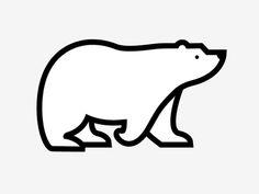 polar bear by Nate Koehler via dribbble