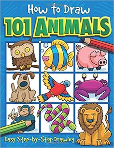 Dan Green book club How to Draw 101 Animals: Easy Step-By-Step Drawing free Stuart Little, Drawing Skills, Line Drawing, Drawing Ideas, Frog Drawing, Types Of Drawing, Drawing Base, Figure Drawing, Ghosts