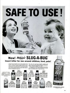 Slug-a-Bug Ad. It's Safe