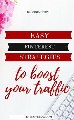 If used strategically, Pinterest is one of the most powerful tools to drive traffic to your blog. Here are some easy Pinterest strategies for new bloggers. #Pinterestmarketing #blogtraffic