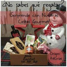 ¿No sabes que regalar? ¡¡Sorprende con nuestras cestas gourmte!!