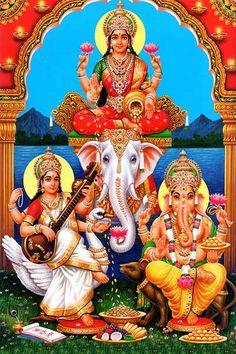 Ads Art Poster Wall decorative and Personalise Greeting cards Shiva Hindu, Hindu Deities, Hindu Art, Ganesha Pictures, Ganesh Images, Radha Krishna Photo, Krishna Art, Glitter Pictures, God Pictures