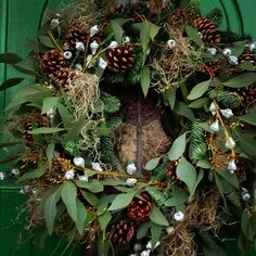 #natural #wreath #christmaswreath  #リース #クリスマスリース