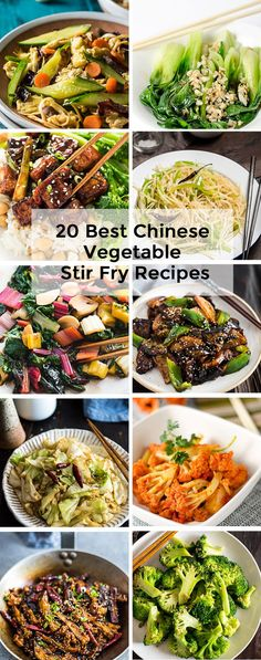 20 Best Chinese Vegetable Stir Fry Recipes
