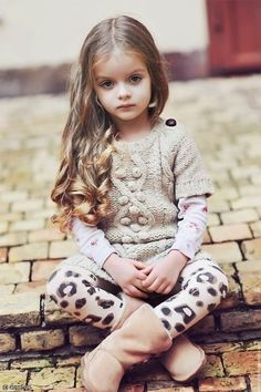 Little lady. So cute