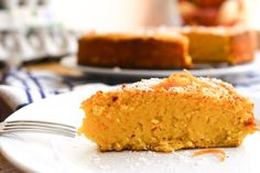 This grain free orange cake uses not just the juice, but the peel too. It's super simple and ready in no time!