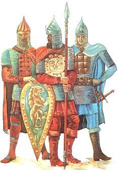 Костюм Киевской Руси X-XIV веков