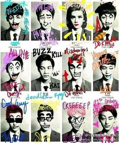Who ever did this is GENIUS!  #exo #kpop