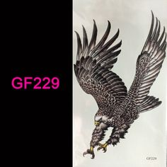 wholesale hot 3d tattoo Flash tattoos women arm temporary tattoo eagle body art sticker sex products bod tatto tatoo #clothing,#shoes,#jewelry,#women,#men,#hats,#watches,#belts,#fashion,#style
