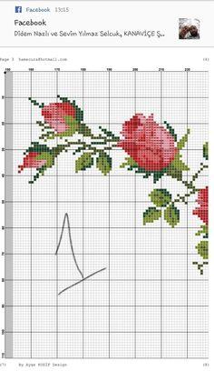 Baby Dress Patterns, Brazilian Embroidery, Rose Bouquet, Cross Stitch, Bag, Cross Stitch Flowers, Cross Stitch Rose, Point Lace, Cross Stitch Embroidery