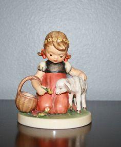 Hummel Figurine Favorite Pet 361 by BeAnnsAttic on Etsy