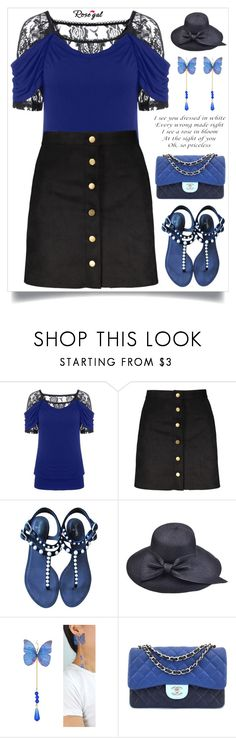 """""""Rosegal 11"""" by itsybitsy62 ❤ liked on Polyvore featuring Chanel"""