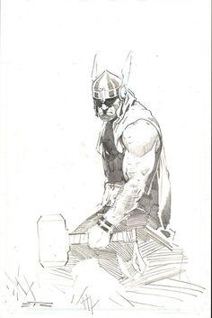 The Mighty Thor - Esad Ribic