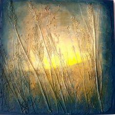 "Saatchi Art Artist Daniela Carletti; Painting, ""Landscape n.9"" #art"