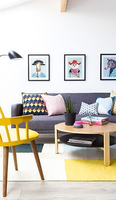 The LuxPad | Scandi style, interior, styling, colour pop