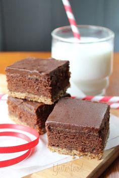 Yesterfood : Triple Layer Brownies
