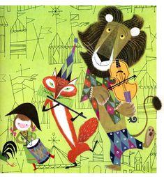 Provenson Animals B by Martin Provenson.