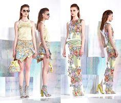 Just Cavalli 2014 Resort Womens Presentation: Designer Denim Jeans Fashion: Season Collections, Runways, Lookbooks and Linesheets