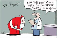 Meanwhile at Kore #Chiropractic...  #Chiropractor: And just how much time do you spend talking to the #elves?