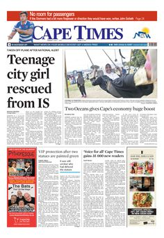 News making headlines: Teenage city girl rescued from IS
