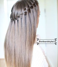 braided hairstyles for girls braided hairstyles for short hair braid styles braided hairstyles for medium hair Daily Hairstyles, Braided Hairstyles, Cool Hairstyles, Wedding Hairstyles, Elegant Hairstyles, Straight Hairstyles Prom, Hairstyle Ideas, Cute Everyday Hairstyles, Cute Simple Hairstyles