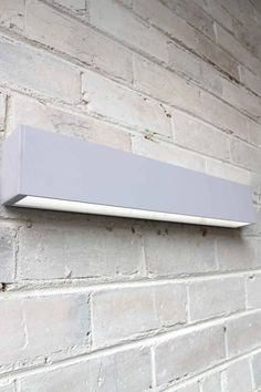 Fluro Up Down Wall Light for washing a wall with light