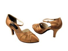 Latin Salsa Very Fine Ballroom Competitive Dance Shoes SERA1692 Beige Brown