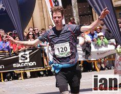 Arc'athlete Florian Reichert at the Zegama-Aizkorri Marathon Skyrunning race