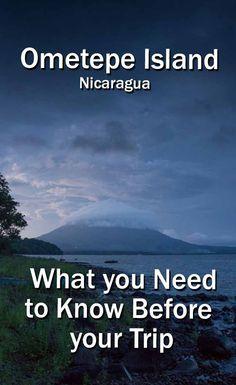 Ometepe Island, Tips Very practical information