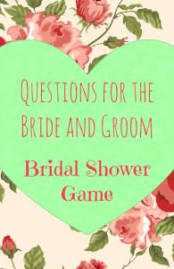 Sexual bridal shower questions
