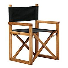 Director's Chair – Black | Serena & Lily desk chair? goes a little nautical