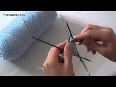 ▶ How to knit a hat - step by step instruction. - YouTube