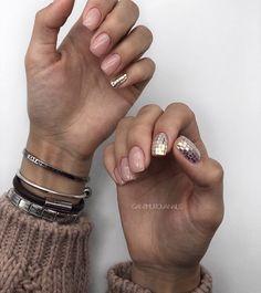 cute nail art designs for short nails 2019 page 11 125 Cute Nail Art Designs, Hair And Nails, My Nails, Minimalist Nails, Dope Nails, Green Nails, Nail Manicure, Short Nails, Natural Nails