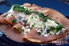 ENFRIJOLADAS | EZ Meals Online | Healthy Eating Ideas, Quick and Easy Recipes