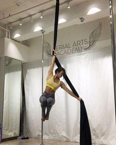"197 Likes, 13 Comments - Stephanie Reid (@steph2085) on Instagram: ""A little silk practise on a Sunday morning @aerialartsacademy #sundays #silks #aerial #training…"""