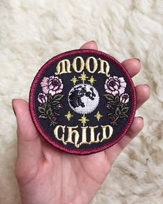 "Moon Goddess Market Original Moon Child Patch Pre-Orders! 3"" Iron on patch by TheMoonGoddessMarket on Etsy https://www.etsy.com/listing/477576495/moon-goddess-market-original-moon-child"