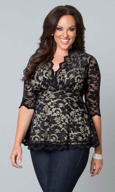 Curvalicious Clothes::Plus Size Tops