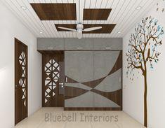 Sliding Wardrobe, New Wardrobe, Tree Decals, Bedroom Interiors, Door Design, Shutters, Ceiling, Doors, Pop