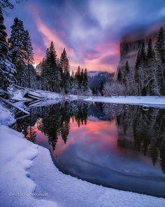 Yosemite National Park, California Via: Anthonybonafede