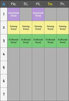 Svunjis Stundenplan (nochmal Überarbeitet)