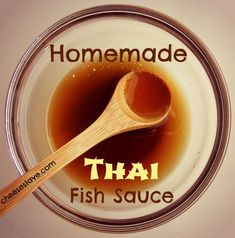 Thai fish sauce, or fermented fish sauce, is a staple throughout southeast Asia (not just Thailand). It makes a great substitute for soy sauce / http://www.cheeseslave.com/homemade-thai-fish-sauce/